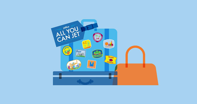 JetBlue All You Can Jet Sweepstakes 2017