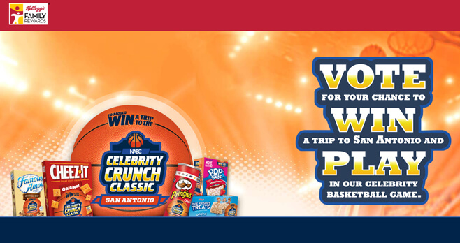 Kellogg's Celebrity Crunch Classic Sweepstakes 2018