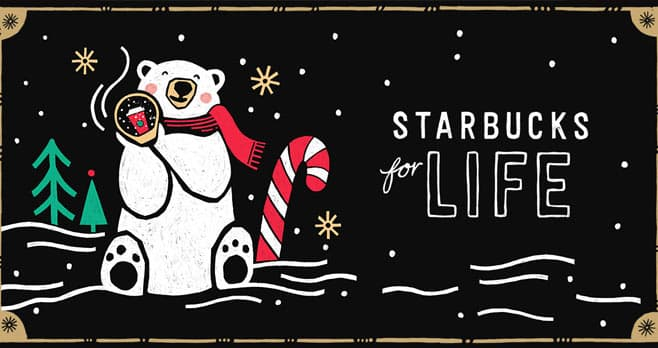 Starbucks For Life 2018 Holiday Edition (StarbucksForLife.com)