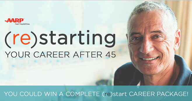 AARP (re)starting Your Career After 45 Sweepstakes 2018