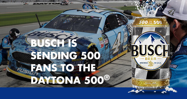 Busch Light 500 To The Daytona 500 Contest 2018