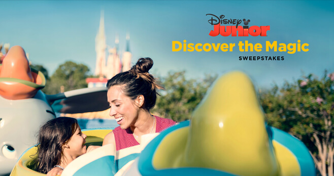 Disney Junior Discover The Magic Sweepstakes 2018