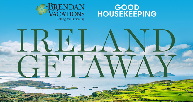 Good Housekeeping Ireland Getaway Sweepstakes 2018 (GoodHousekeeping.com/IrelandGetaway)