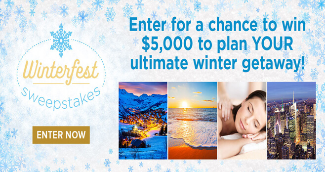 Hallmark Channel Winterfest Sweepstakes 2018