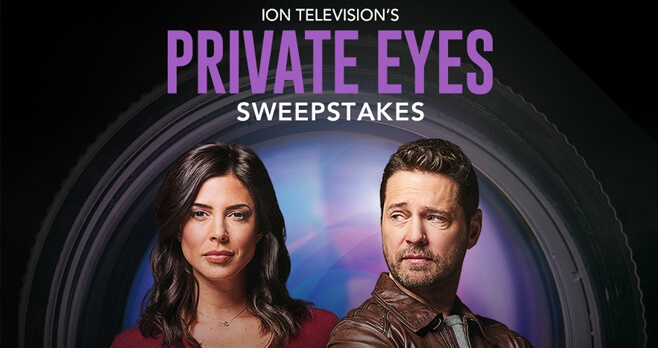 ION Television Private Eyes Sweepstakes 2018