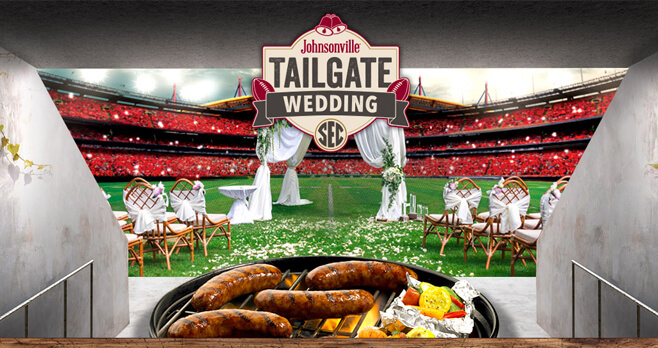 Johnsonville Tailgate Wedding Contest 2018 (TailgateWeddingContest.com)