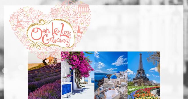 JTV Ooh La Luxe Getaway Sweepstakes 2018 (JTV.com/Europe)
