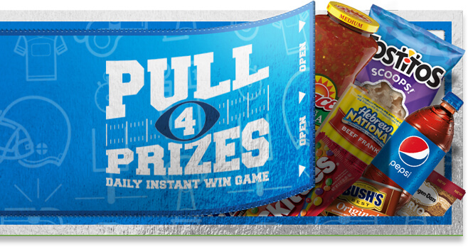 Kroger Game Day Greats Instant Win Game 2018 (GameDayGreats.com)