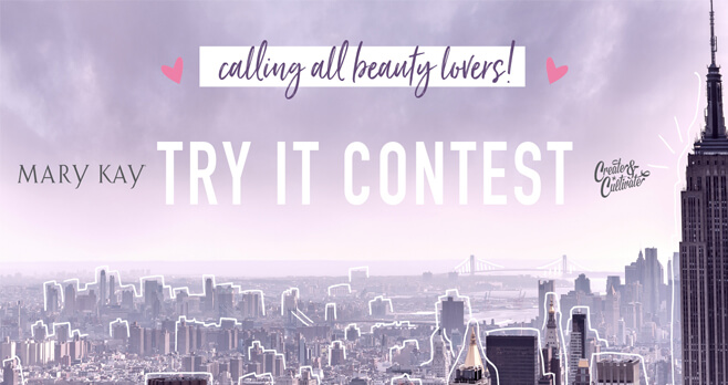 Mary Kay Try It Contest 2018 (MaryKay.com/TryItContest)
