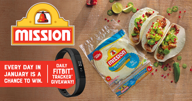 Mission Foods Mission To Change Sweepstakes 2018 (MissionToChange.com)