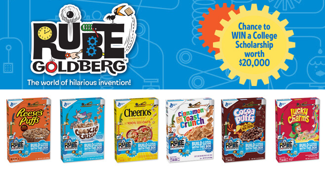 Rube Cereal Machines Sweepstakes 2018