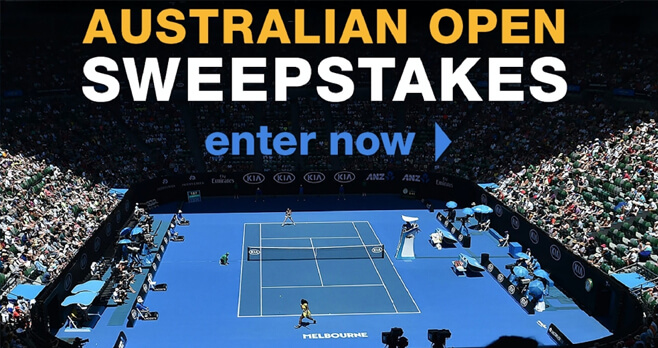 Tennis Channel 2019 Australian Open Trip Giveaway