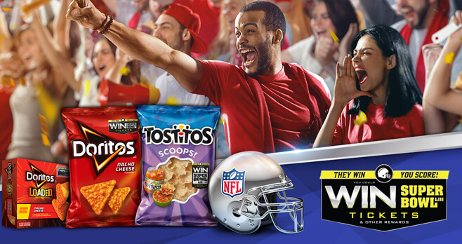 They Win. You Score! Super Bowl Edition Sweepstakes 2018 (TheyWinYouScore.com)