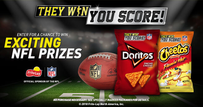They Win. You Score Sweepstakes