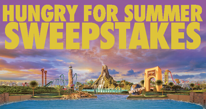 Universal Kids Hungry for Summer Sweepstakes 2018