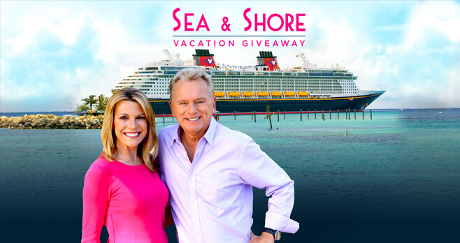 Wheel of Fortune Sea & Shore Vacation Giveaway 2018