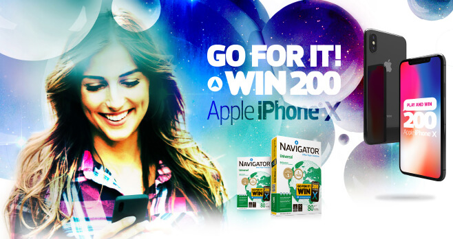 Navigator Paper iPhone X Giveaway 2018