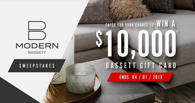 Bassett B-Modern Sweepstakes 2018