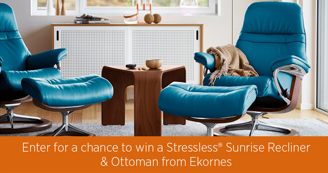 House Beautiful Ekornes Sweepstakes 2018