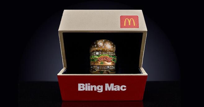 McDonald's Bling Mac Contest
