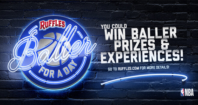 Ruffles Baller For A Day Sweepstakes 2018