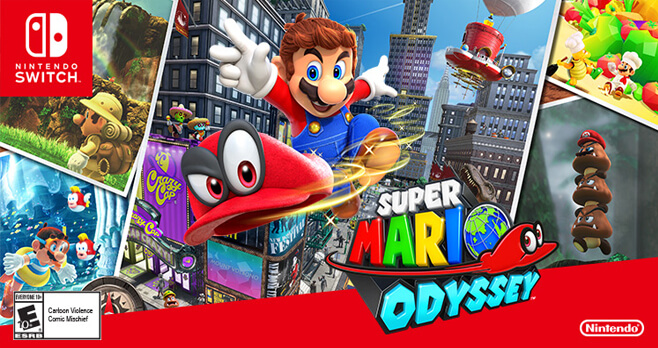 Southwest And Nintendo Super Mario Odyssey Sweepstakes