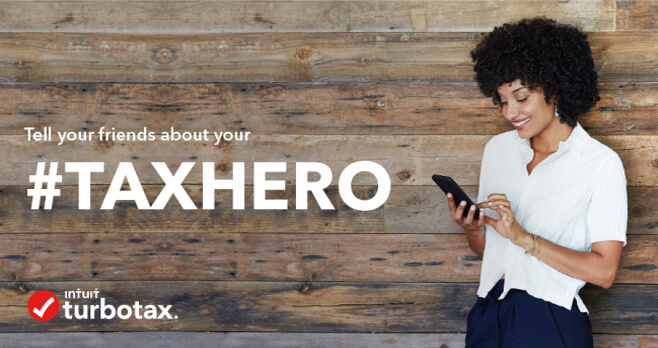 TurboTax Tax Hero Sweepstakes 2018