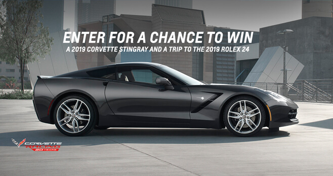 20th Anniversary of Corvette Racing Sweepstakes (RaceToWinCorvette.com)