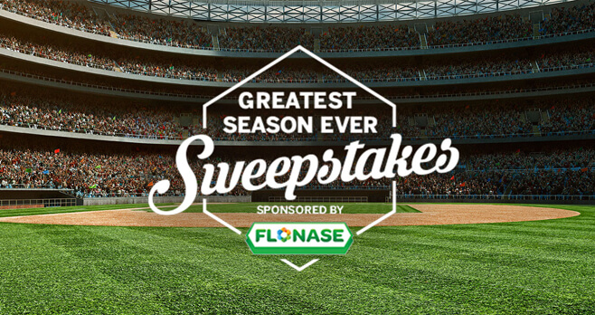 Greatest Season Ever Sweepstakes by FLONASE