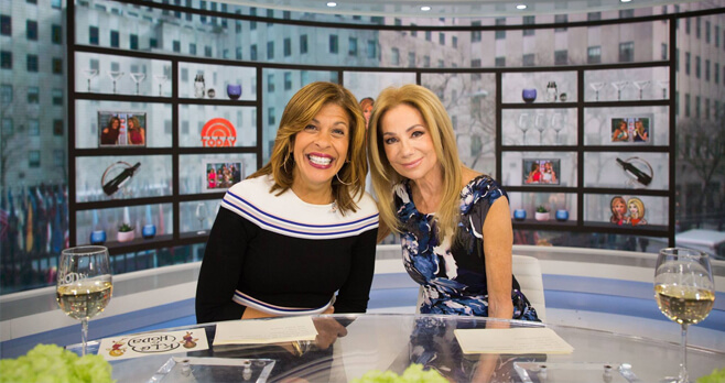Kathie Lee and Hoda Toast To Ten Sweepstakes