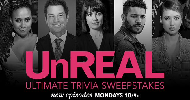 Lifetime Ultimate UnREAL Trivia Sweepstakes