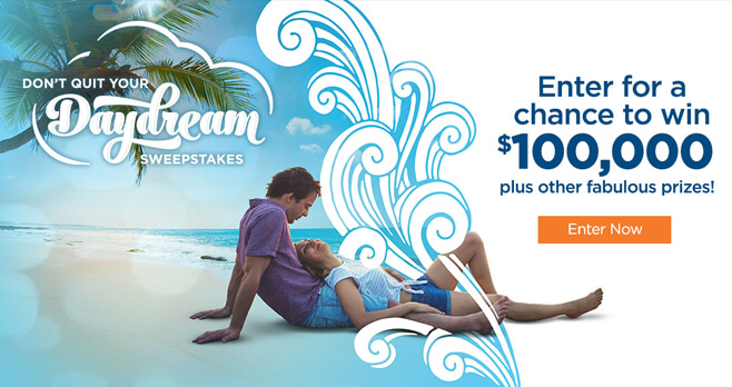 Wyndham Don't Quit Your Daydream Sweepstakes