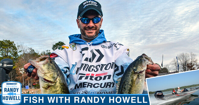 Bass Master Fish with Randy Howell Sweepstakes (Bassmaster.com/FishWithRandy)