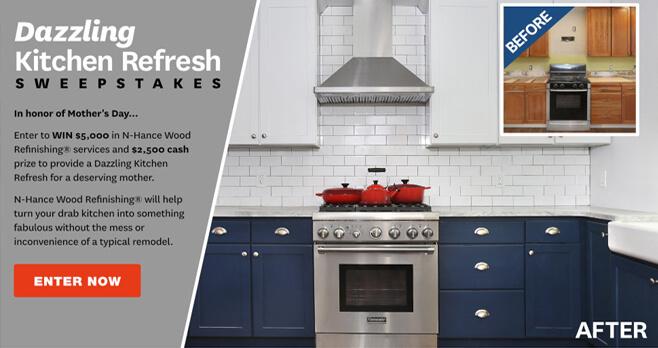 BHG N-Hance Dazzling Kitchen Refresh Sweepstakes (BHG.com/N-Hance)