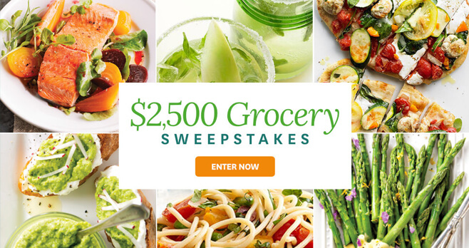 BHG $2,500 Spring Grocery Sweepstakes 2018