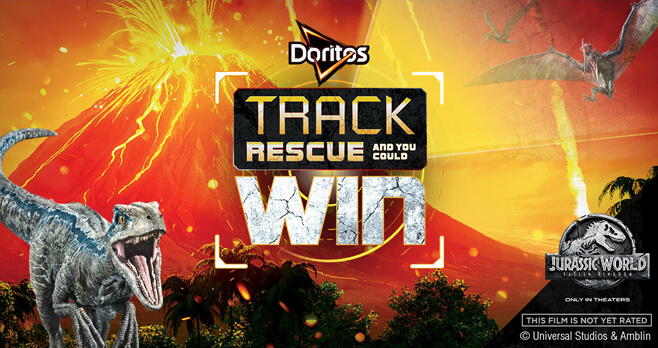 DORITOS Jurassic World Track. Rescue. Win. Sweepstakes (DoritosTrackRescueWin.com)