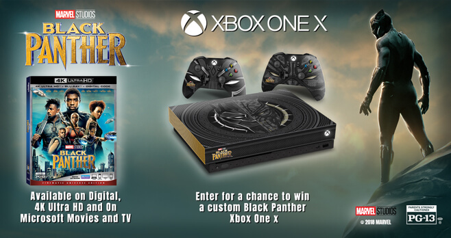 Black Panther Xbox Sweepstakes (BlackPantherXboxSweeps.com)