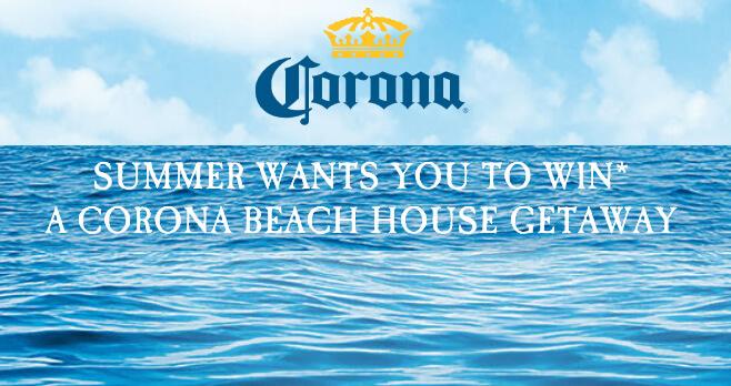 Corona Summer 2018 Sweepstakes