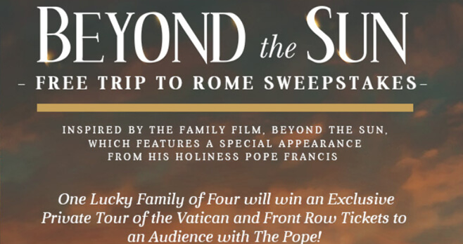 Free Trip to Rome Sweepstakes Presented by Grace Hill Media