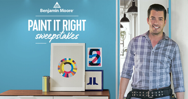 HGTV Paint It Right Sweepstakes by Benjamin Moores