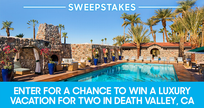 Oprah Magazine The Oasis At Death Valley Sweepstakes