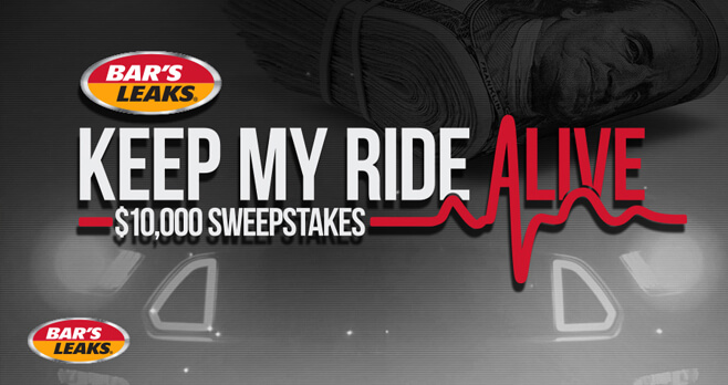 PowerNation TV Bar's Leaks Keep My Ride Alive $10,000 Sweepstakes
