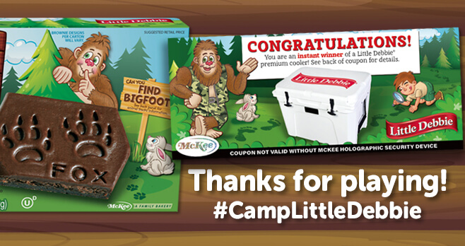 Camp Little Debbie Giveaway