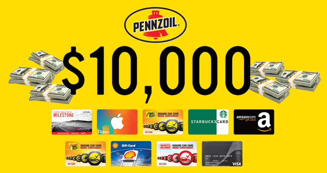 Pennzoil Spin to Win Sweepstakes