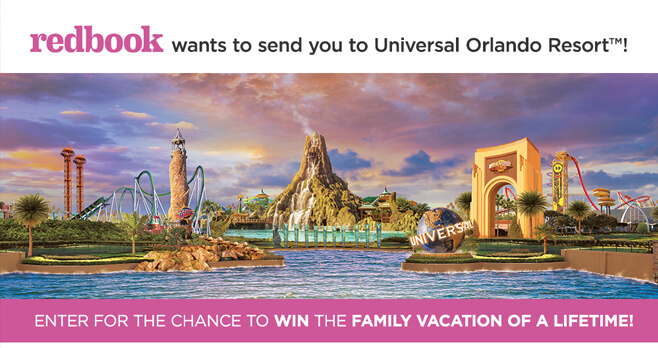 Redbook Universal Orlando Resort Summer Sweepstakes