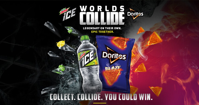 Worlds Collide: MTN DEW and DORITOS Sweepstakes
