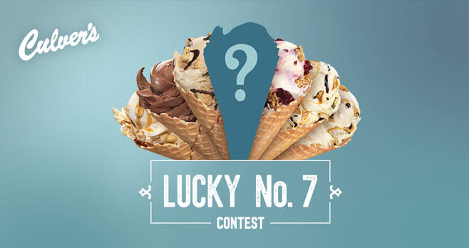 Culver's Lucky 7 Contest