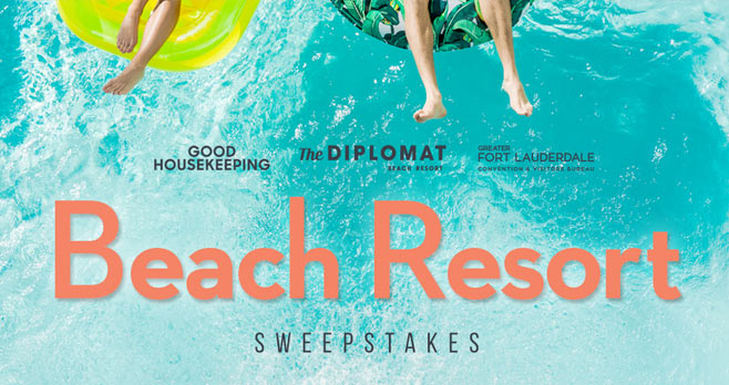 Good Housekeeping Diplomat Beach Resort Sweepstakes