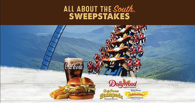 Jack's All About The South Sweepstakes