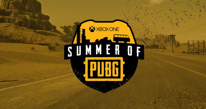 Microsoft Summer of PlayerUnknown's Battlegrounds Sweepstakes